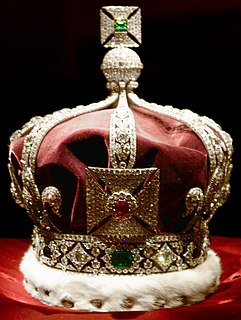 Crown used by King George V as Emperor of India at the Delhi Durbar of 1911