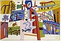 Impression of the New York World's Fair (mural study, Communications Building, World's Fair, Flushing, New York) SAAM-1995.27 1.jpg