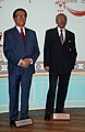 InSapphoWeTrust - Jiang Zemin and John Howard at Madame Tussauds London (8480299375).jpg