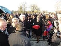 Inauguration de la branche vers Vieux-Condé de la ligne B du tramway de Valenciennes le 13 décembre 2013 (085).JPG