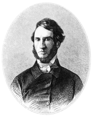 John Lloyd Stephens - John Lloyd Stephens portrait published in 1854