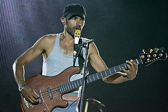 Incubus (band) - Ben Kenney live in Rock in Rio Madrid 2012.