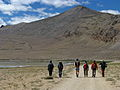 India - Ladakh - Trekking - 013 - passing Tso Kar (3906541966).jpg