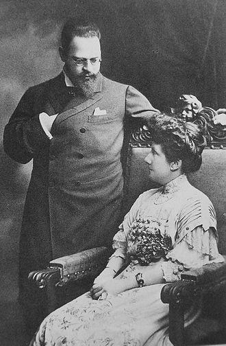 Infanta María de la Paz of Spain - Prince Ludwig Ferdinand of Bavaria and Infanta Paz