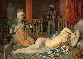 Image illustrative de l'article L'Odalisque à l'esclave
