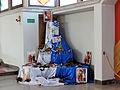 Interior of Saint Michael Archangel church in Puszcza Mariańska (brick church) - 10.jpg