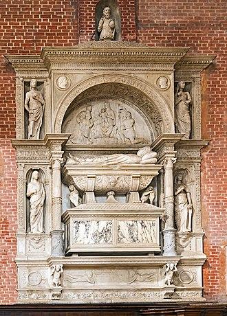 Nicolò Marcello - His tomb