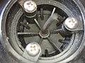 Internal view of Apeks dry suit automatic dump valve showing underside of rubber mushroom valve P3250159.jpg