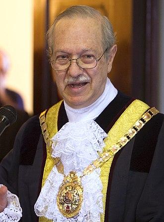Speaker of the Gibraltar Parliament - Image: Investidura Adolfo Canepa como nuevo alcalde (cropped)