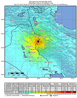 Iran-Iraq border earthquake ShakeMap.jpg