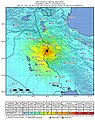 Iran-Iraq border earthquake ShakeMap.jpg