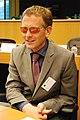 Islandsk medlem av Nordisk rads Presidium under et mote i Europaparlamentet i Brussel, juni 2011.jpg