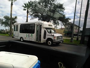 Island Transit (Texas) - An Island Transit vehicle
