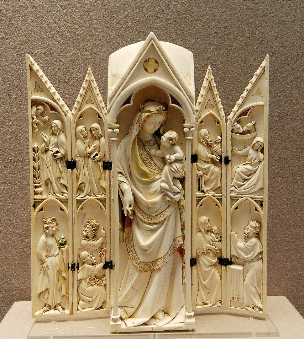 Ivory tabernacle Louvre OA2587