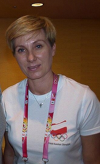 Iwona Marcinkiewicz - Image: Iwona Dzięcioł Marcinkiewicz