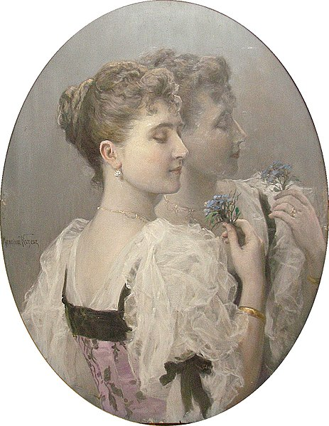 File:Józef Męcina-Krzesz - Portret dziewczyny.jpg