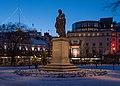 Jöns Jacob Berzelius by Carl Gustaf Qvarnström Berzelii Park Stockholm 2016 01.jpg