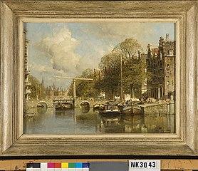 De Kloveniersburgwal in Amsterdam