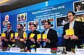 J.P. Nadda and the Union Minister for Human Resource Development, Shri Prakash Javadekar launching the 'Swachh Swasth Sarvatra' (1).jpg