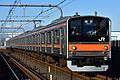 JR East 205-5000 Musashino Line 20170116.jpg