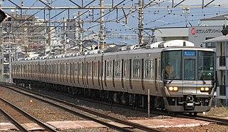 JR Kyoto Line Railway line in Keihanshin, Japan