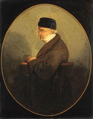 David Pierre Giottino Humbert de Superville - David Pièrre Giottino Humbert de Superville, portrayed by Jacobus Ludovicus Cornet around 1840-1849