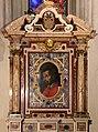 Jacopo vignola (dis.), tabernacolo di san carlo borromeo, 1570-1600 ca., con ritratto di scuola fiorentina, 02.jpg