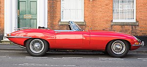 Jaguar E-Type - E-Type series 1 roadster 1967