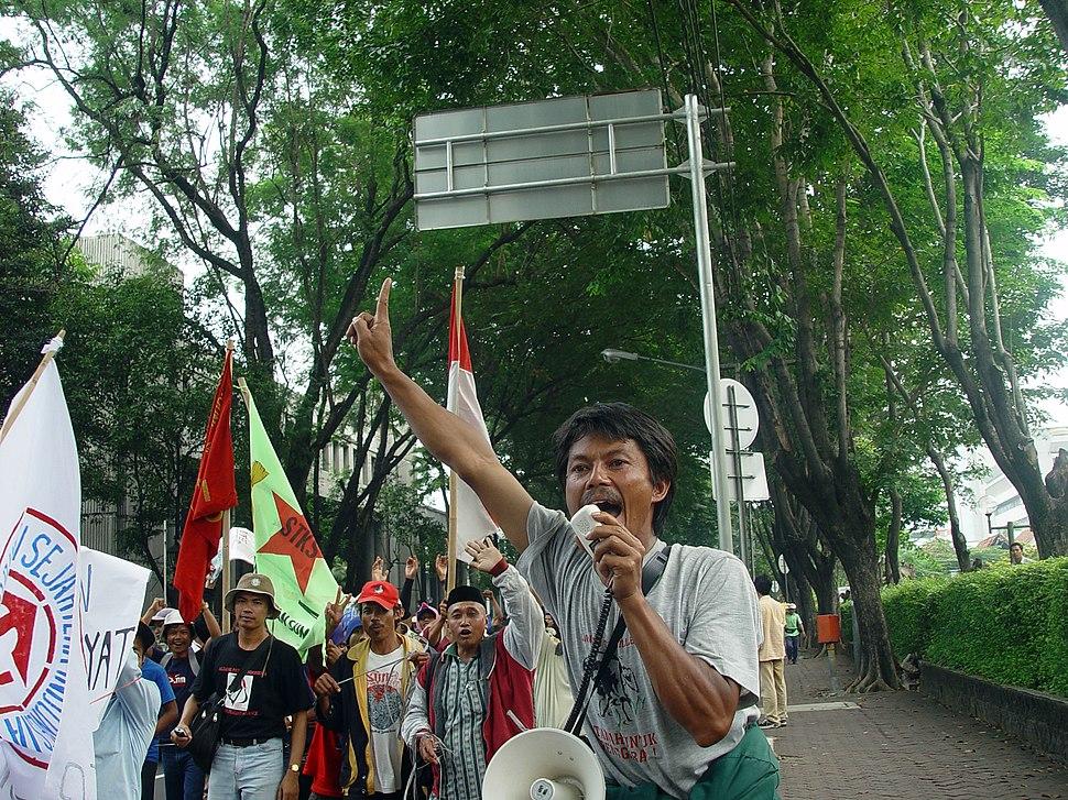 Jakarta farmers protest14