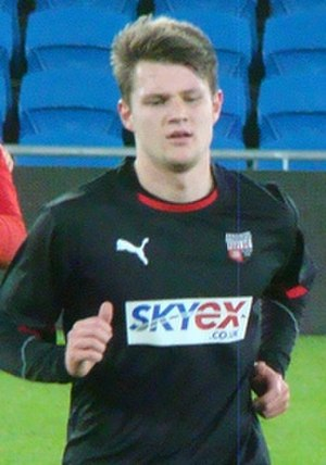 Jake Reeves - Reeves training for Brentford in January 2013.