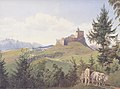 Jakob Alt - Der Martinsberg bei Raab - 1842.jpeg
