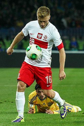 Jakub Błaszczykowski - Błaszczykowski captaining Poland in 2013