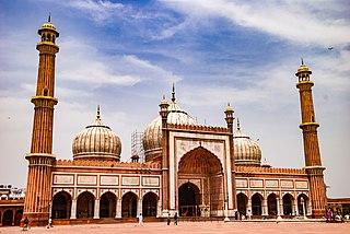 Jama Masjid, Delhi Mosque in Old Delhi, India