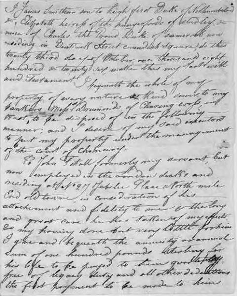 File:James Smithson Handwritten Draft.djvu
