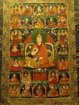 Jamphel Gyatso, 8th Dalai Lama - AMNH - DSC06244