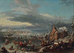 Jan Pieter van Bredael the Younger - Winter