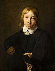 Portrait d'un garçon à l'âge de six ans