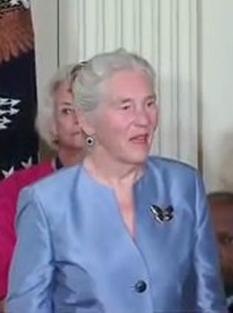 Janet Rowley - Rowley at the White House in August 2009