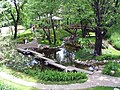 Japanese garden, Jevremovac May 2004.jpg