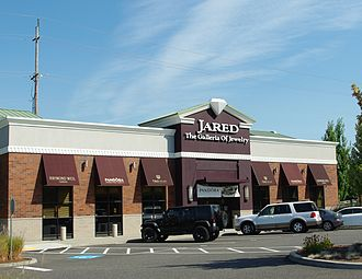 Sterling Jewelers - A Jared-branded store in Hillsboro, Oregon in September 2012.