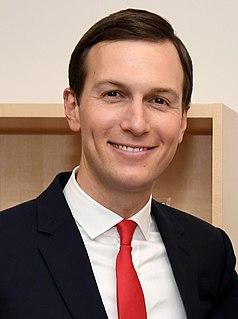 Jared Kushner American investor, real-estate developer, newspaper publisher, and senior advisor to President Donald Trump