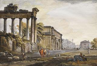 Capriccio with Ruined Architecture