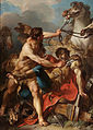 Jean Baptiste Marie Pierre - Diomedes King of Thrace Killed by Hercules and Devoured by his own Horses, 1752.jpg