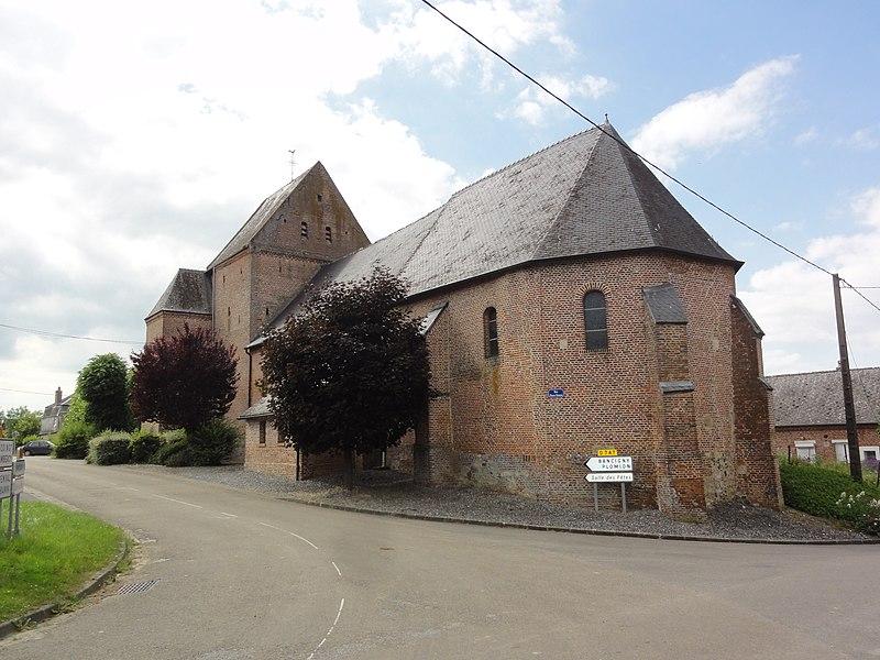 Jeantes (Aisne) église