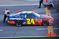 Jeff Gordon at end of Gatorade Duels.jpg