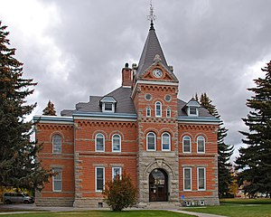 Jefferson county, montana courthouse
