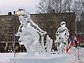 Jelgava, ledus skulptūru festivāls 2007 - panoramio - aldonis.jpg