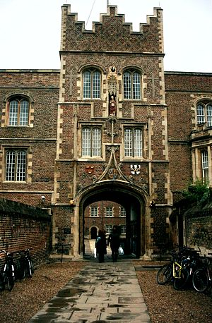 Jesus Lane - The main entrance of Jesus College, on Jesus Lane.