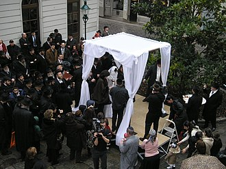 Thou shalt not commit adultery - A Jewish Wedding in Vienna, Austria, 2007