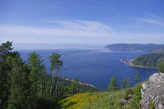 freshwater lake in Russia